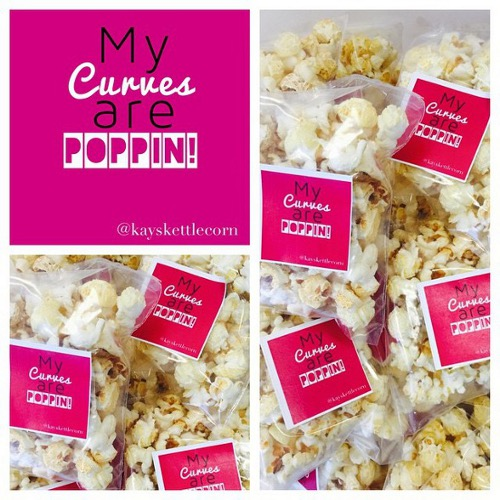 Kay's Kettle Corn Custom Favors